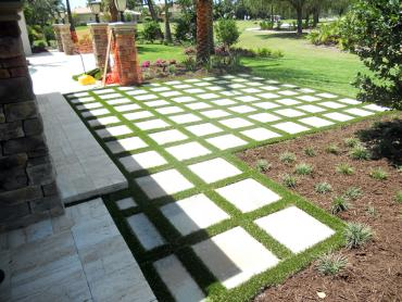 Artificial Grass Photos: Artificial Grass Installation Homeland, California Gardeners, Backyard Landscaping Ideas