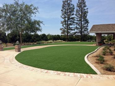 Artificial Grass Photos: Artificial Grass Installation La Jolla, California Paver Patio, Small Front Yard Landscaping