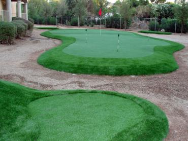 Artificial Grass Installation San Marino, California Putting Greens, Backyard Landscaping artificial grass