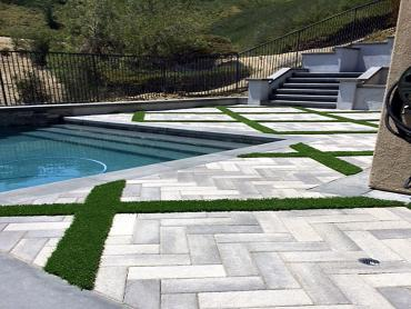 Artificial Grass Photos: Artificial Grass Oak Park, California Garden Ideas, Backyard Designs