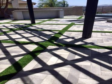 Artificial Grass Photos: Artificial Turf Thousand Oaks, California Rooftop, Pavers