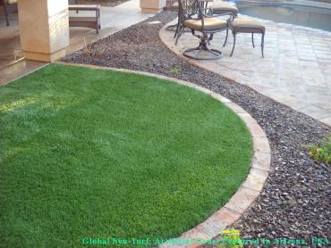 Artificial Turf View Park-Windsor Hills, California Design Ideas, Front Yard Landscape Ideas artificial grass