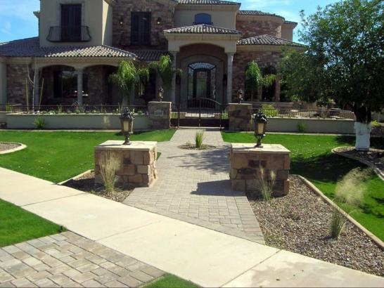 Artificial Grass Photos: Fake Grass Carpet Lemoore Station, California Lawn And Landscape, Small Front Yard Landscaping
