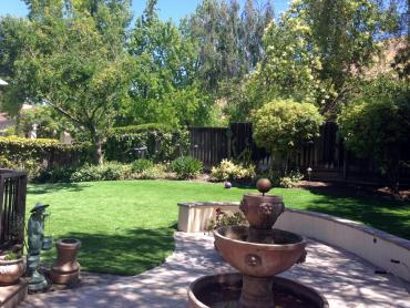 Artificial Grass Photos: Green Lawn Redondo Beach, California Paver Patio, Backyard Landscaping Ideas