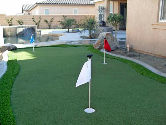 Artificial Grass Photos: Lawn Services Castroville, California Putting Green Carpet, Backyard Makeover