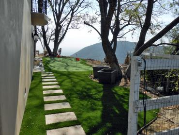 Synthetic Lawn La Presa, California Best Indoor Putting Green, Backyard Designs artificial grass