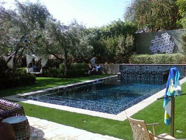 Artificial Grass Photos: Synthetic Turf Mountain Mesa, California City Landscape, Backyard Pool