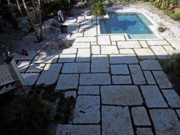 Artificial Grass Photos: Turf Grass Norwalk, California Paver Patio, Natural Swimming Pools